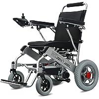 Wheel-hy Silla de Ruedas eléctrica de Aluminio Plegable