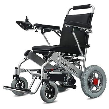Wheel-hy Silla de Ruedas eléctrica de Aluminio Plegable ...