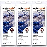 3x Watersafe WS-207 Lead in Home Tap Drinking Water Test Kit, Single Use per package.