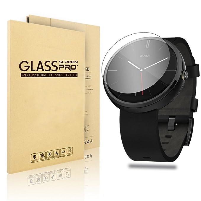 Motorola Moto 360 Reloj Protector de Pantalla, Cristal ...