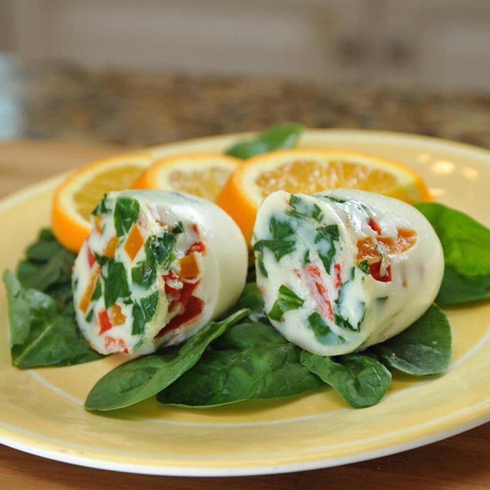 Amazon.com: ShineMe paquete de 6 huevos de silicona olla de ...