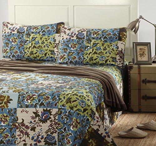 China Tache Home Fashion KST1504-Cal King 3 Piece 100% Co...