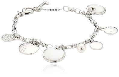 Fossil , JF00553040 , Bracelet Femme , Acier Inoxydable , Oxyde de Zirconium