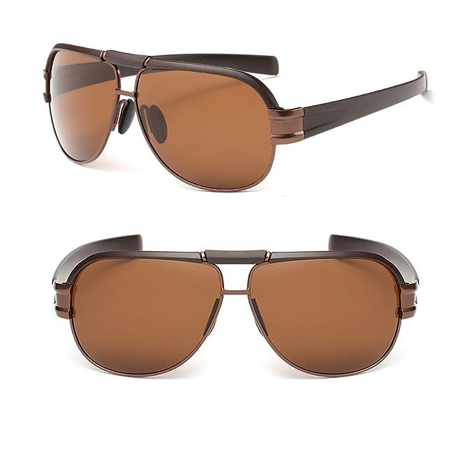 Hombres gafas de sol polarizadas de protección UV400 conducción gafas de sol 8985