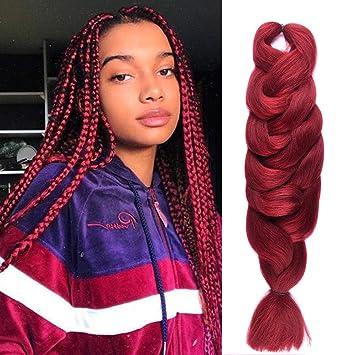 Amazon Com 84 Inch100 Kanekalon X Pression Braiding Hair