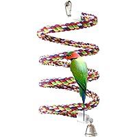 Bird Perch, Rope Bungee Bird Toy