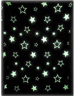 Amazon com: Glow In The Dark Fleece Throw Cozy Blanket Super Soft