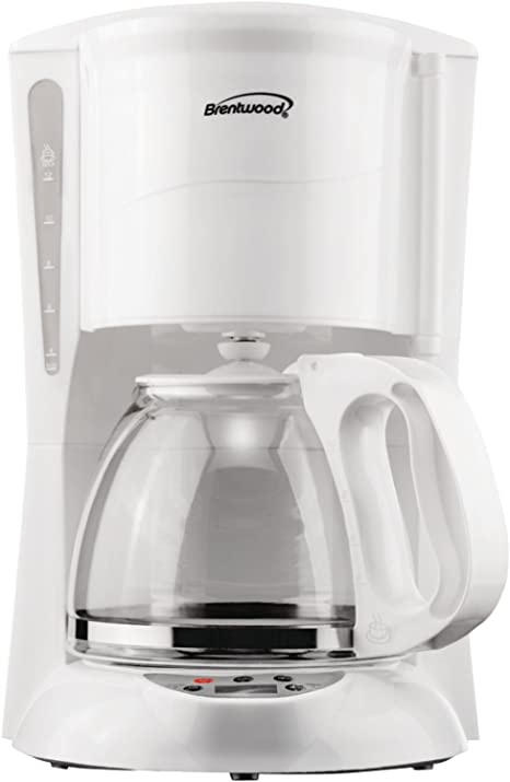 Brentwood TS 218W 12 Cup Digital Coffee Maker