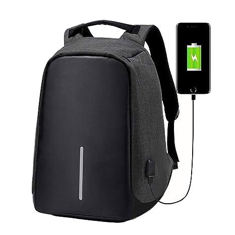 Tbag Mochila Antirrobo USB Mochila de Seguridad, 15.6 Mochila para Ordenador portátil, Regalo para