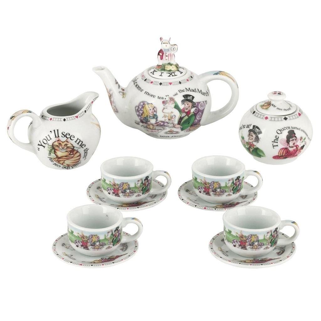 Cardew Design Alice in Wonderland Miniature Collector's Tea Set