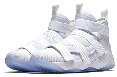 save off 99f5c c493d Image Unavailable. Image not available for. Color: Nike Lebron Soldier XI  Flyease ...