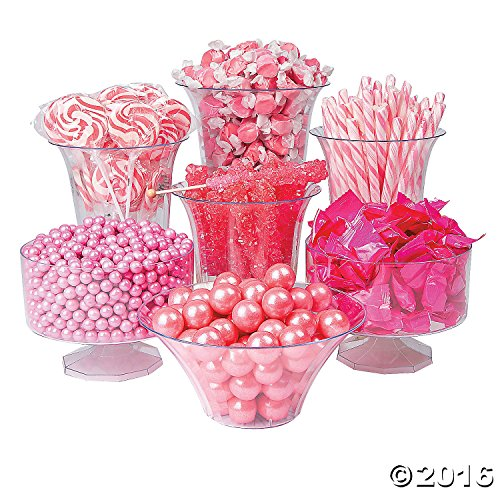 Pink Candy Buffet Assortment by orientaltrading