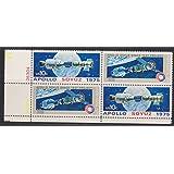 Apollo Soyuz Space Test Set of 4 x 10¢ US Postage Stamps Scott #1569-70