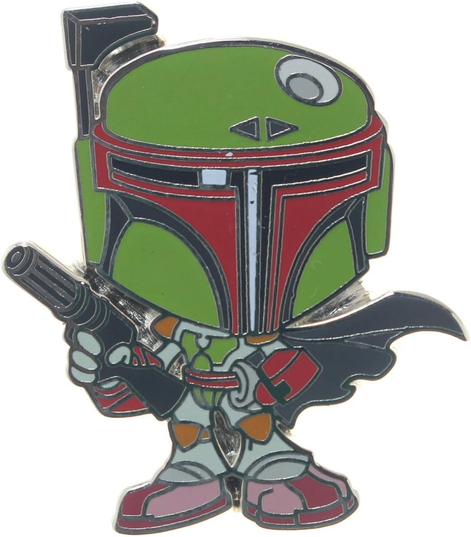 Star Wars Boba Fett Enamel Pin Green