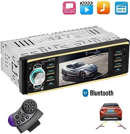 Meteor Fire Auto Mp5 Dvd Player 4 1 Zoll Auto Multimedia Karten Maschine Mit Stereo Bluetooth Freisprecheinrichtung 1 Din Auto Audio Unterstützung Die Bildfunktion Umkehrt Küche Haushalt