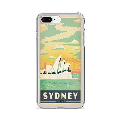 Amazon.com: Cartel Vintage - Sydney 1499 - Funda iPhone 7 Plus