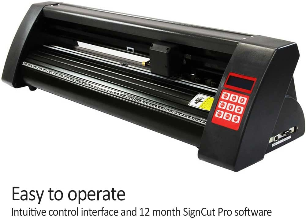 PixMax plotter de vinilo de corte 72cm compatible con mac y windows y el software pro signcut: Amazon.es: Hogar