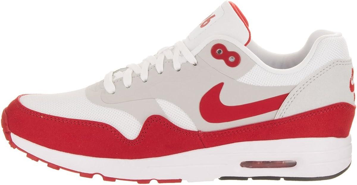 Détails sur Nike Air Max 1 Ultra 2.0 le Haut UK 3 EUR 36 Blanc Rouge 908489 101 afficher le titre d'origine
