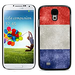 Graphic4You Vintage French Flag of France Design Hard Case Cover for Samsung Galaxy S4 S IV