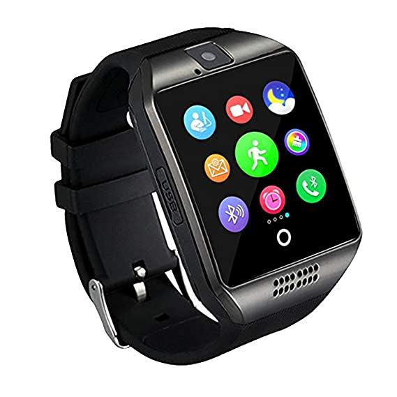 Qiufeng Q18 Smartwatch for Android and IPhone Smartphones for Kids Girls  Boys Men Women
