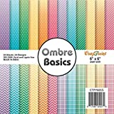 "The Craftshop CrafTreat Paper Pack Ombre Basics 6""X 6"""
