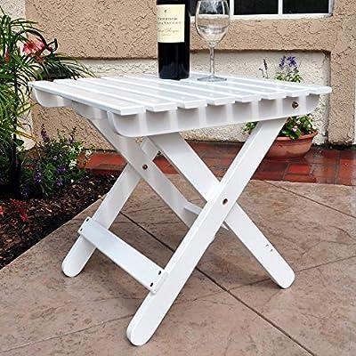 Shine Company Adirondack Folding Side Table