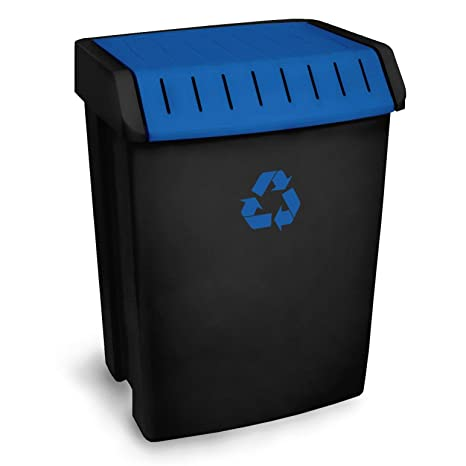 be24c5d76 Tatay Tatay 1102300 Contenedor Reciclaje, Azul, 40.5 X 33.5 X 57.5 ...