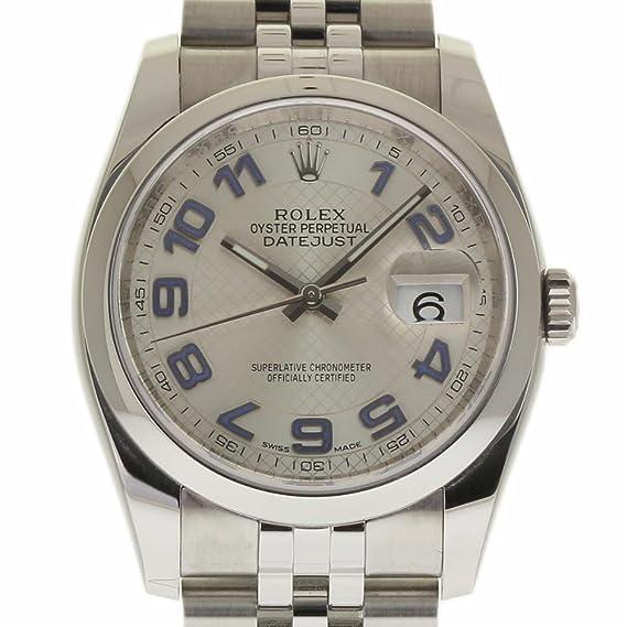 Rolex Datejust swiss-automatic Mens Reloj 116200 (Certificado) de segunda mano: Rolex: Amazon.es: Relojes