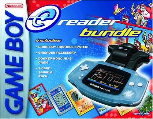 Glacier Game Boy Advance e Reader Bundle