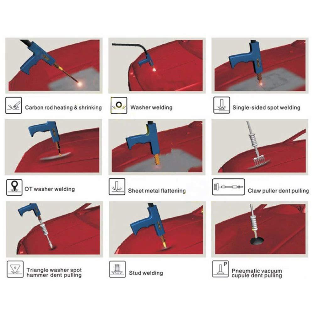Car & Truck Parts Spot Welders Spot Welding Tool Soldering Torch For Car Body Dent Repair Welder W/ 3 Triggers
