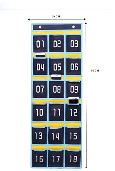 Amazon lecent numbered classroom pocket chart for cell phones lecent numbered classroom pocket chart for cell phones business cards 61215 colourmoves