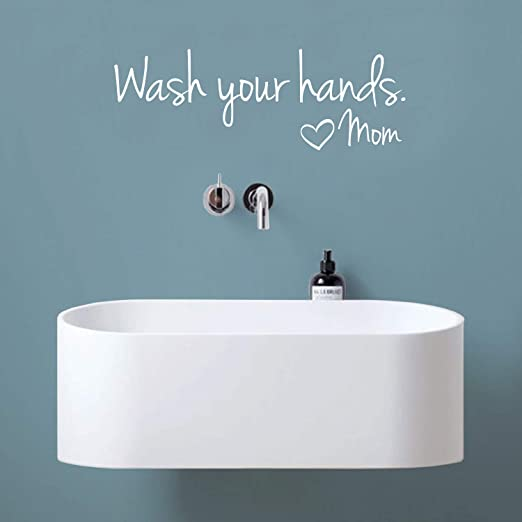 Bathroom Rules Quote Wall Murals Decals DIY Art Removable for Kids Bathroom Toilet Decor Kecar Wall Stickers Ship from USA Directly