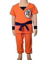 Dressy Daisy Boys' Dragon Ball Son Goku Fancy Costumes Set Outfit Halloween Party