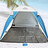 Platinum Plus Sun Beach Shelter UPF 100+ Jumbo Size Up for 4 persons with Removable Floor. by Shadezilla & Amazon.com: Shadezilla - Camping Shelters / Tents u0026 Shelters ...