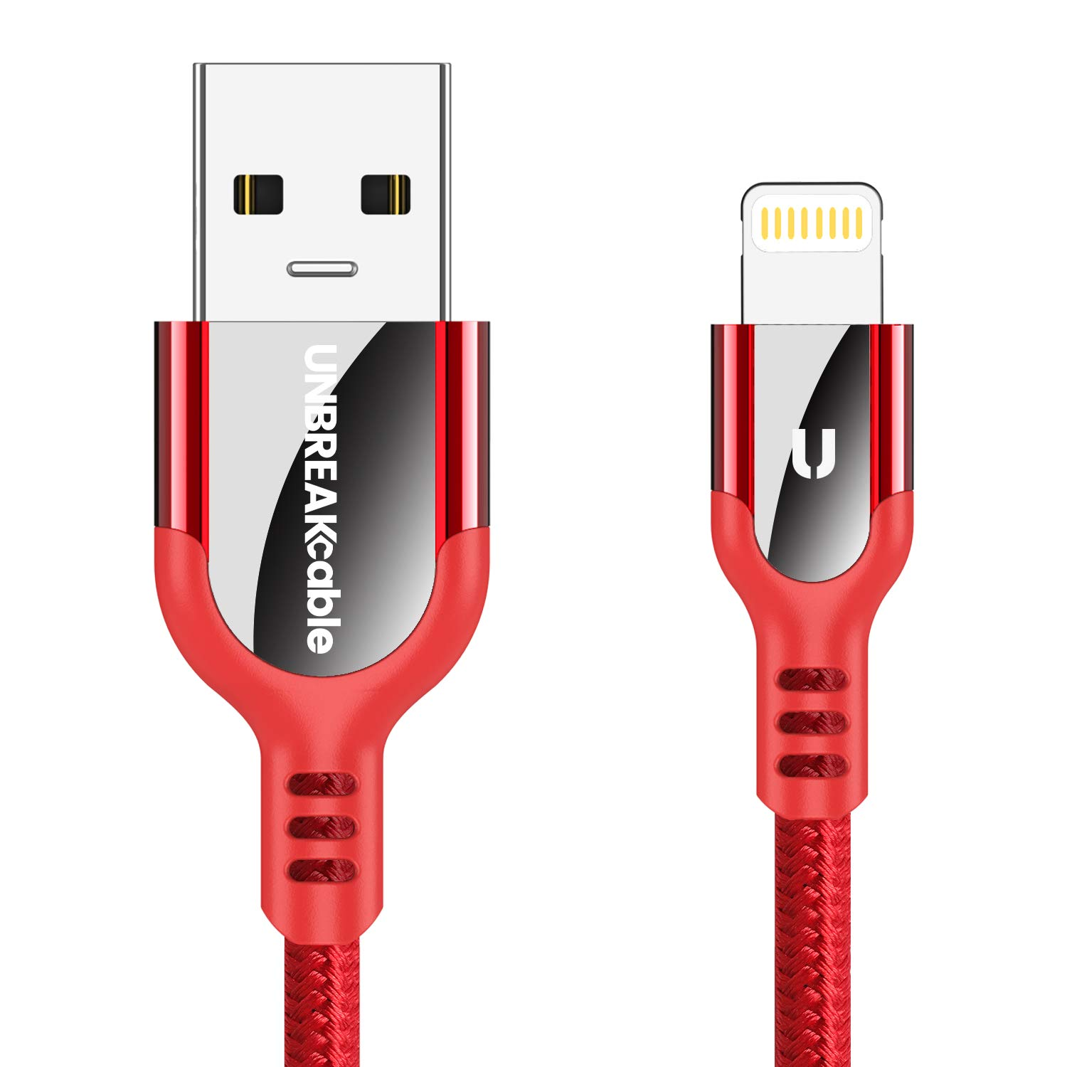 UNBREAKcable Cable Lightning Cargador iPhone: Amazon.es ...