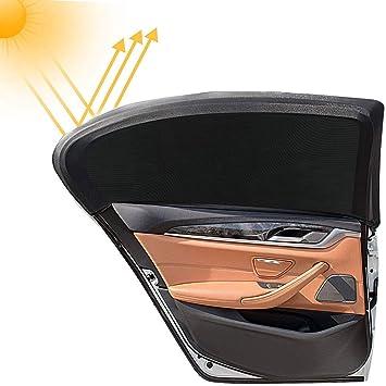 Sonnenschutzrollo Auto Für Seitenfenster Autofenster Sonnenschutzrollos Heckscheibe Autosonnenblende Sonnenschutz Netz 2 Stück Baby