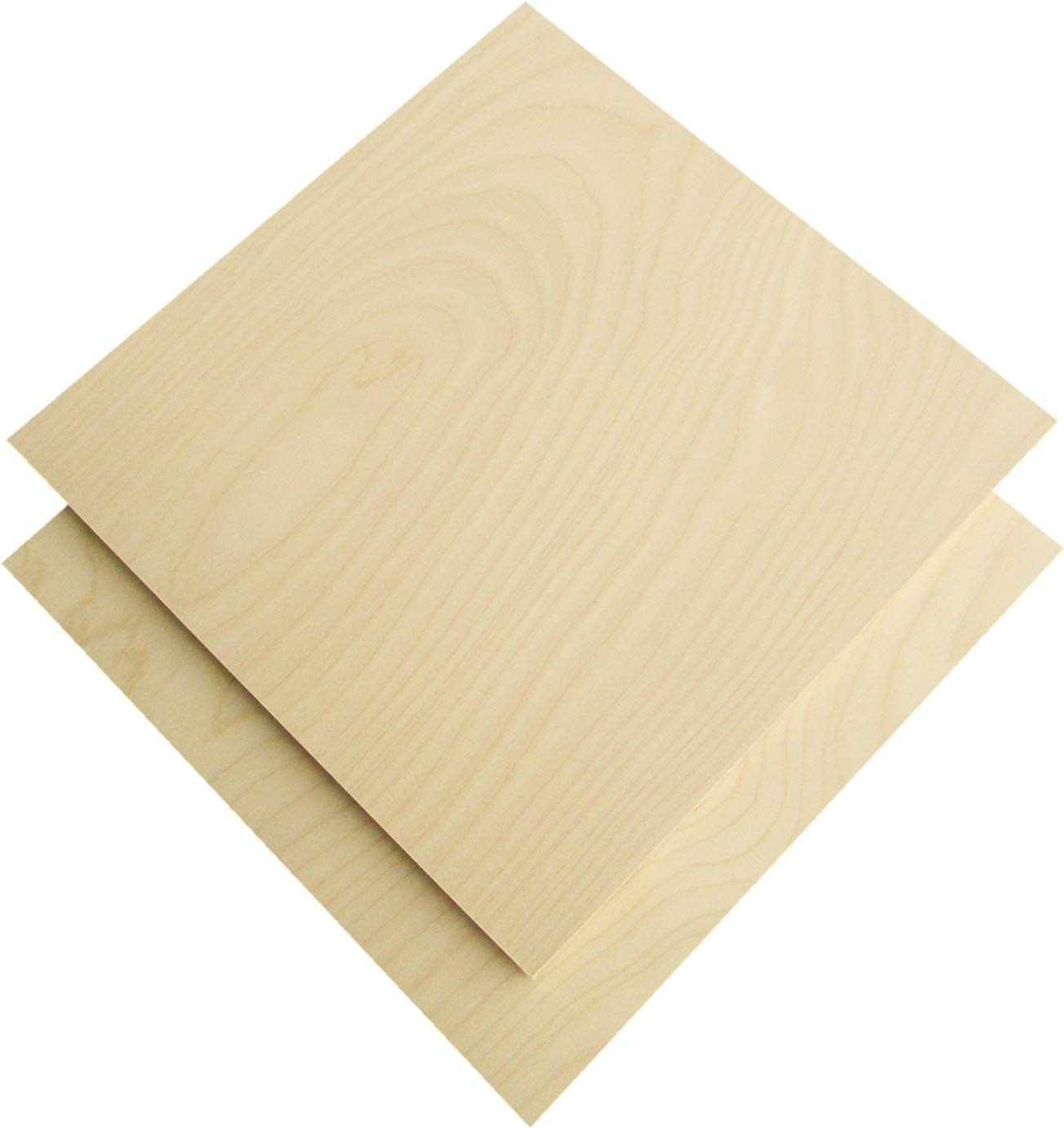 9 mm 1/3''x 10''x 10'' Russian Birch Plywood B/BB Grade 4 Flat Sheets by Hoito wood