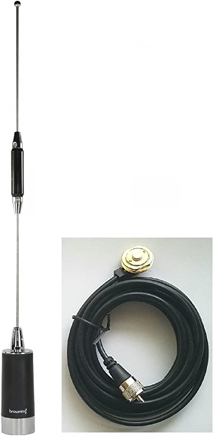 155-174MHz NMO Antenna Magnetic Mount VHF MINI RG58 Cable For Mobile Car Radio