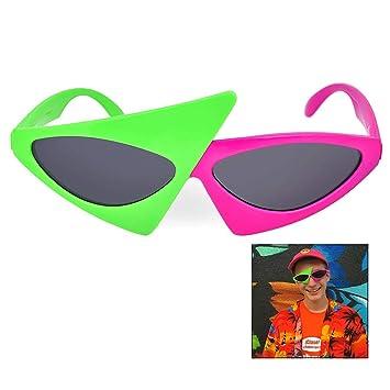 LHKJ Gafas Asimétricas, Novedad Gafas de Sol de Fiesta Gafas ...