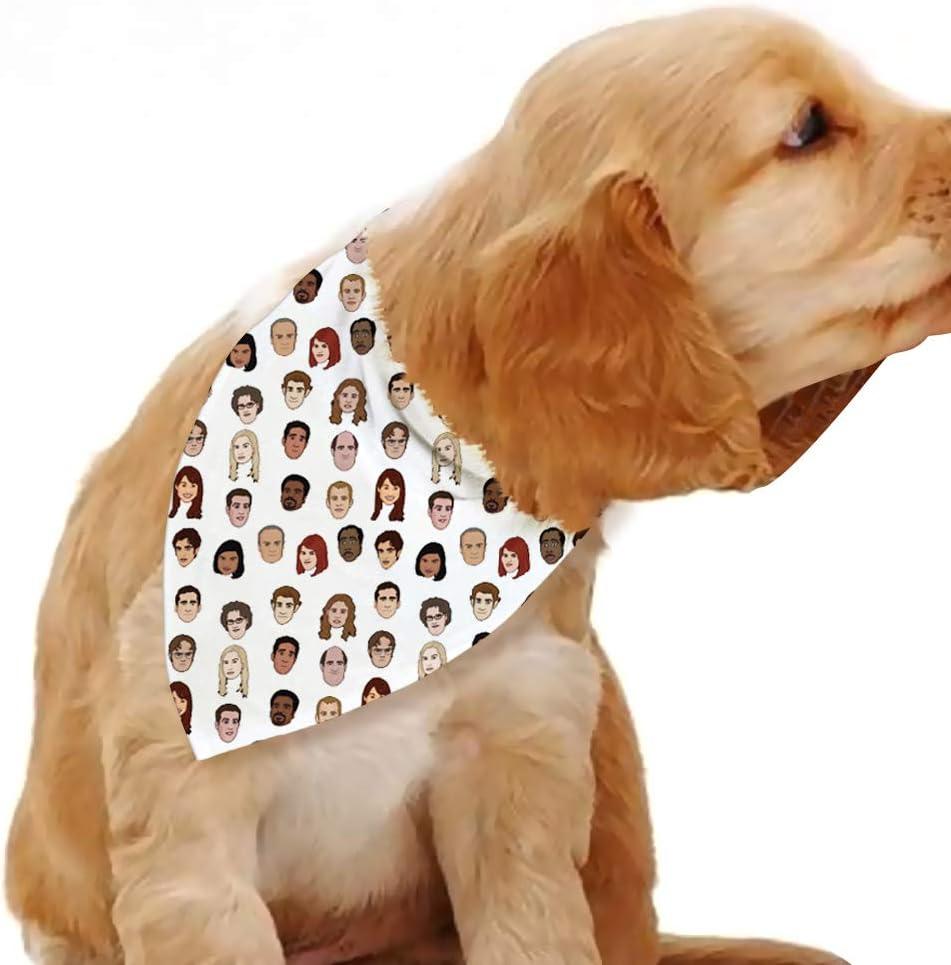 Dog Bandanas- Office Dog Bandana- Pet Bandana for Boy and Girl, Dog Scarf for Small Medium Large,Dog Personalized Pet Bandana, Dog Gift, Pet Gift, Dog Accessories, Cat Accessories