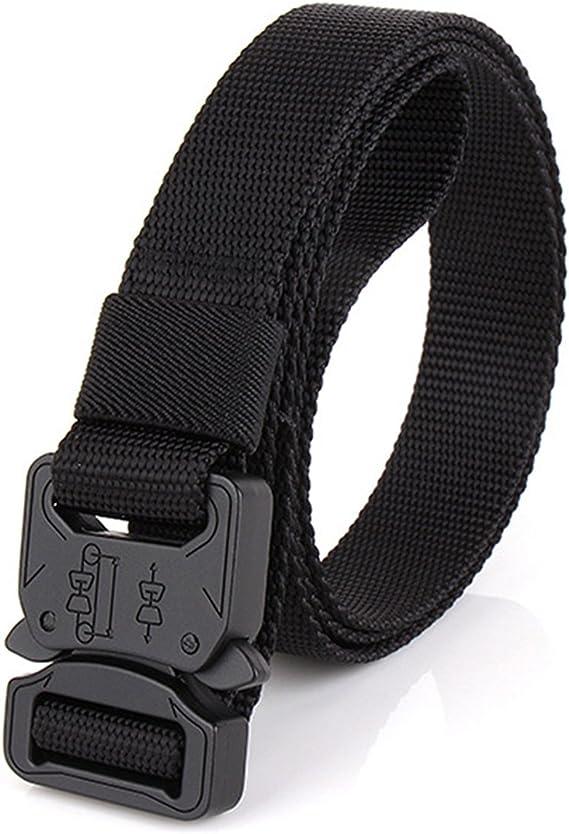 Men Quick Release Buckle Military Trouser Belt Cobra Tactical Nylon WbingNeIJUS
