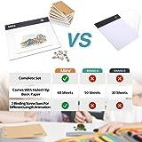 Mlife Flip Book Kit - A5 LED Light Box for