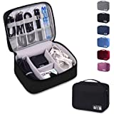 Rubik Travel Universal Cable Organizer Waterproof Carrying Bag, Gadgets Electronics Accessories Storage Case for Charger…