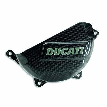 Amazon Com Ducati Panigale Carbon Fiber Clutch Cover Automotive