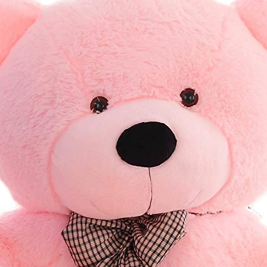 Minitrees Cute and Lovely Soft Plush Teddy Bear Toy, 90 cm (Pink)