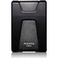 "ADATA AHD650-1TU31-CBK Disco Duro Externo Portátil HD650 Resistente a Golpes 1TB, 2.5"", USB 3.1 Gen1, Negro"