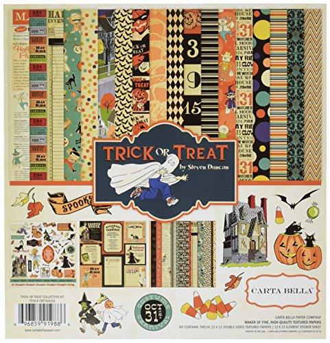 Carta Bella Paper Company Trick or Treat Collection (Icon Treat)