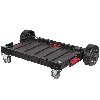 Transporte Roller para cajas de almacenamiento y maletín de herramientas enrollable Plataforma transporte carro plataforma con