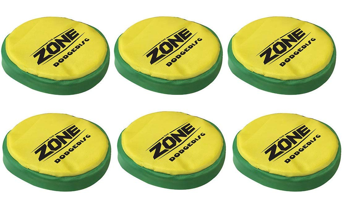 The Zone DodgeDISC Set of 6