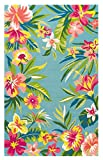 Company C Mai Tai Synthetic Accent Rug 5' x 8' Area, 0